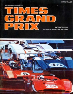 1969 Times Grand Prix program.