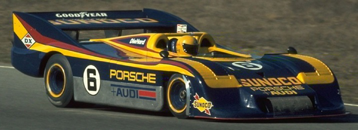 Mark Donohue and the Porsche 917/30 at speed.