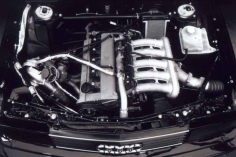 The 5000CS Engine Bay.