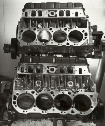 The Reynolds Aluminium Can-Am engine blocks.
