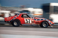 The 1971 Chevrolet Corvette driven by Dave Heinz IMSA GTO Championship Winning Car.