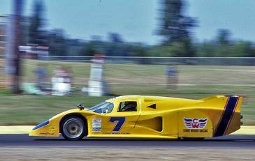The 1981 Lola T600 here driven by Brian Redman and which changed the championship by introducing the new GTP category.