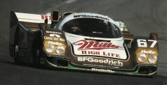 The 1989 Daytona 24 Hours Miller Highlife winning 962 in GTP trim with Derkel Bell, Bob Wollek and John Andretti.