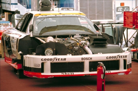 The 1989 IMSA GTO Audi 90 which was the first car with all-wheel drive to compete in the championship.