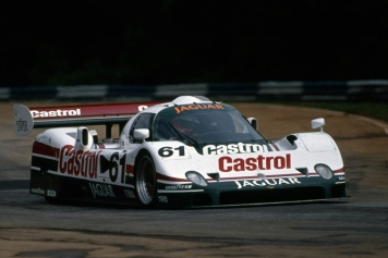Jaguar and TWR were also present in America with the XJR-10 here in 1990.
