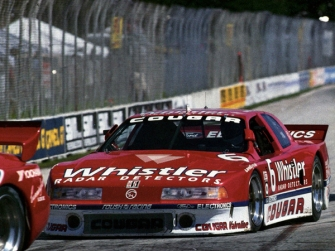 The Mercury Cougar here in 1990 and which in 1989 took the GTO title.