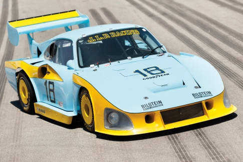 "The JLP Racing Porsche 935 ""JLP-3"". A model which proved the most successful car ever in the championship."