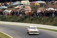 The Hans Heyer and Klaus Ludwig OA. Winning Zakspeed Escort after the Division 2 debacle of both BMW and Ford.