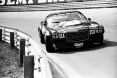 The mean looking Chevy Camaro Z28 of Gardner and Muir at speed.