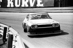 The Cologne GA Capri of Mass and Lauda at speed.
