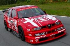 The 1993 Larini DTM Championship Winning Alfa Romeo 155 V6 Ti.