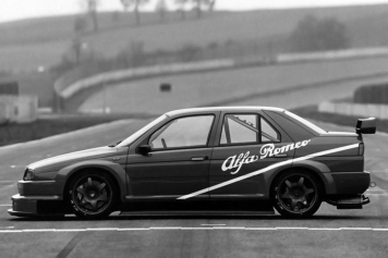 1993 and introduction of the DTM FIA Class 1 Alfa Romeo 155 V6 Ti.