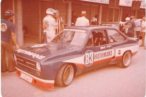 1979 and what looks like a Zakspeed early Group 2/5 spec Escort Mk2, driven here by Kenny Lee.