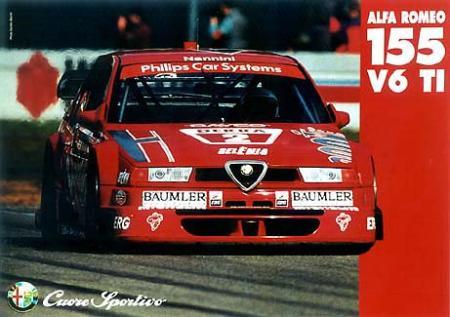 1994, Alfa Romeo promotion.
