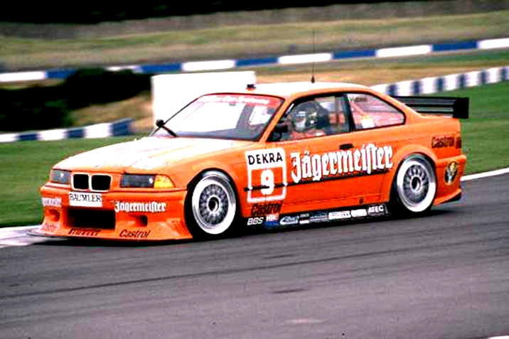 The privately built - Lindner - BMW E36, not really up to speed and without works backing.