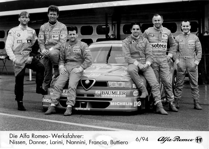 Die Alfa Romeo Werksfahrer.