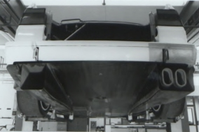 The 1996 Rear Underfloor as Homologated.