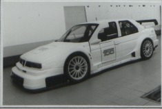 The 1996 Abarth SE065 as Homologated.