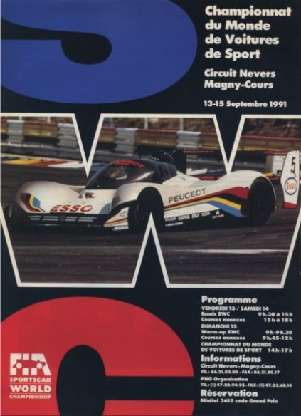 Magny-Cours Official Program.