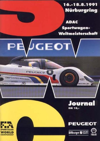 Nürburgring Official Program.