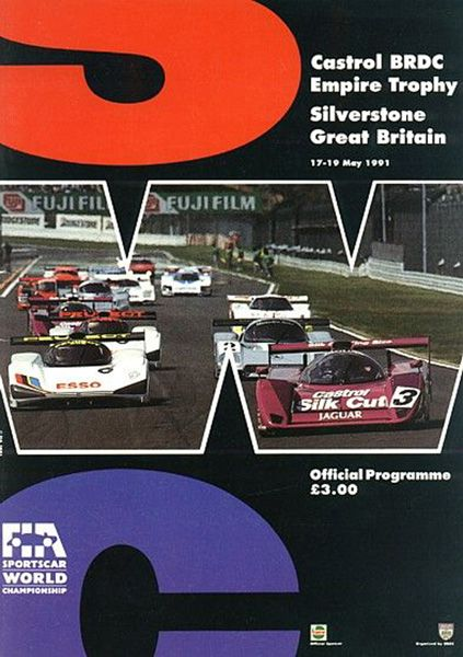 Silverstone Official Program.