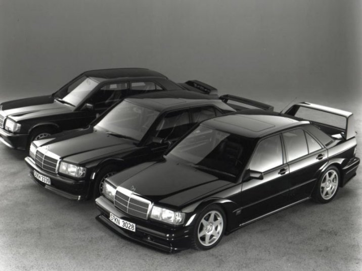 The Mercedes 190E 2.3-16 / 2.5-16 Evolution / 2.5-16 Evolution 2 family.