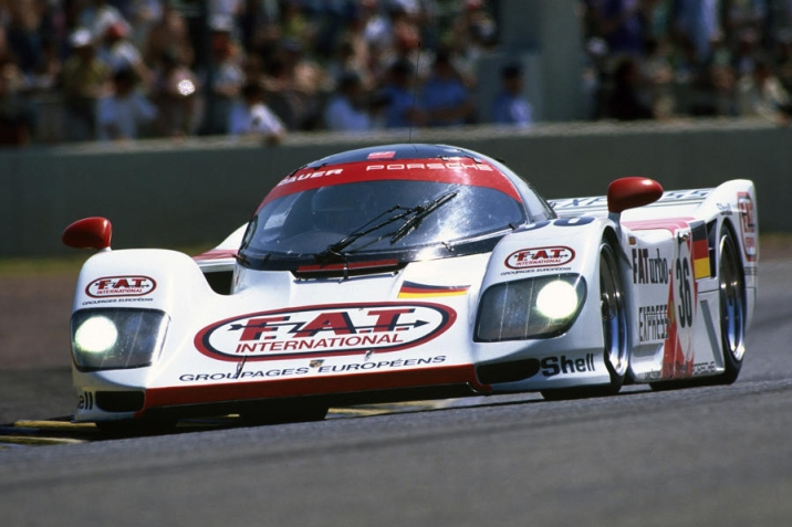 The Winning Dauer-Porsche 962 LM.